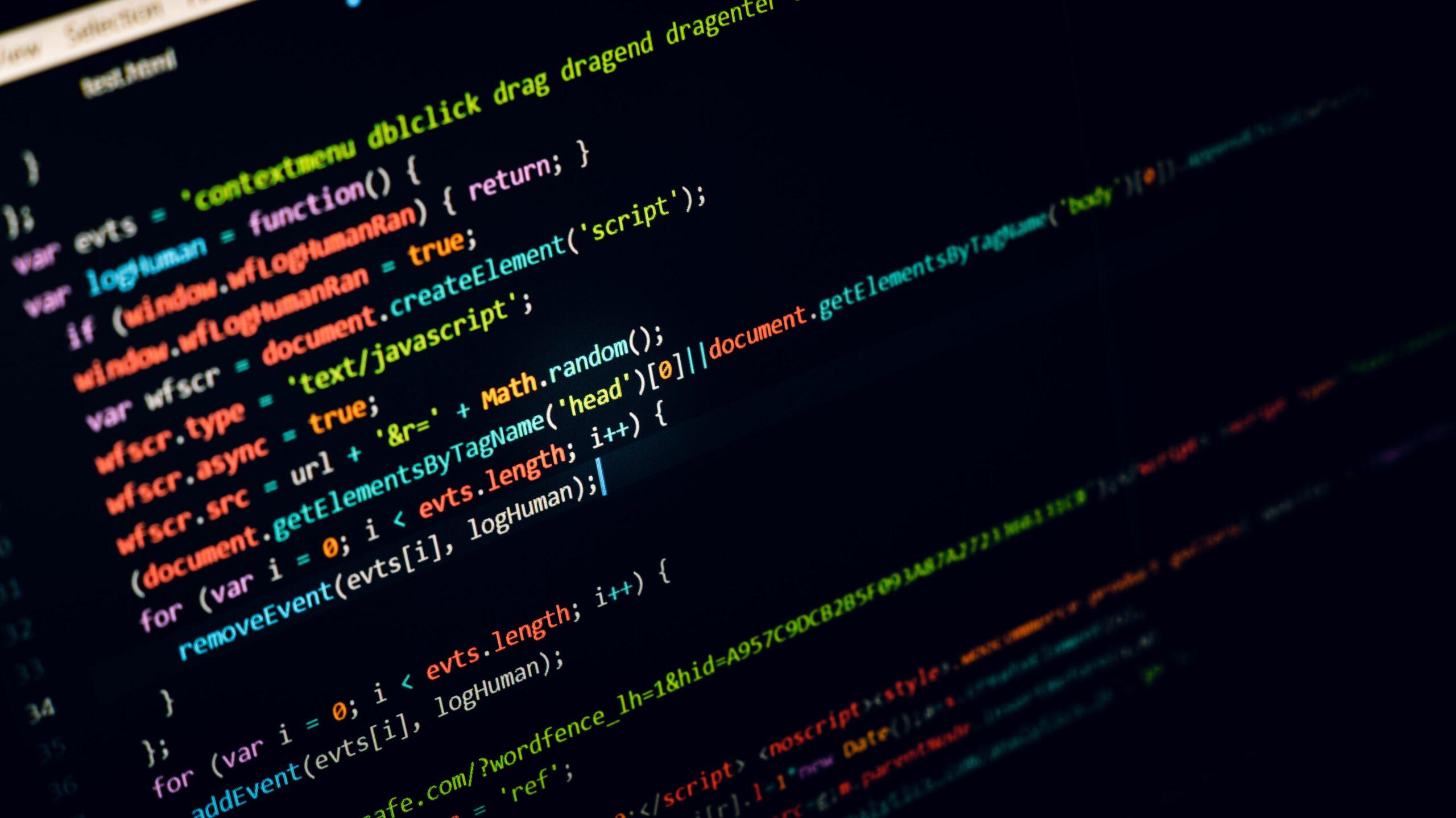 Line of Computer Code