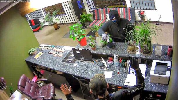Cannabis Dispensary Robber