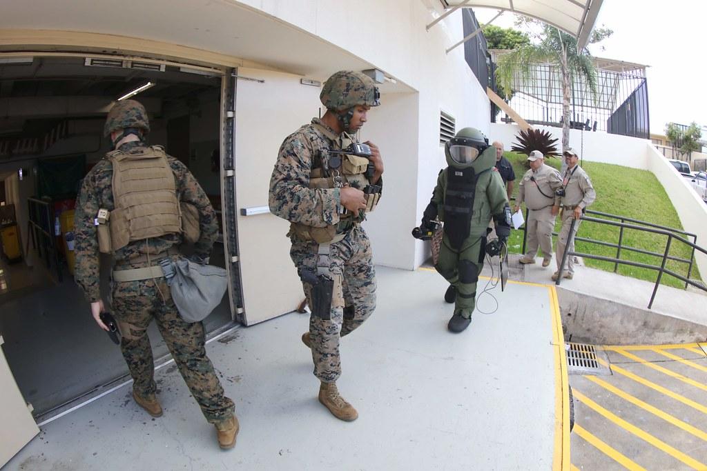 Bomb Threat Exercise