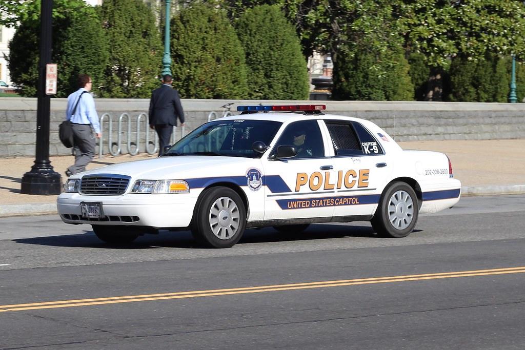 US Capitol Police Car